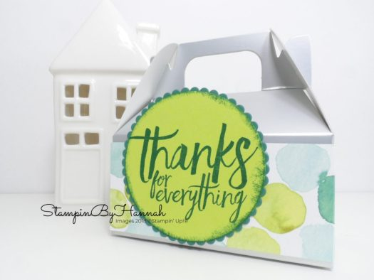 Stampin' Up! Mini Gable Boxes Video Tutorial