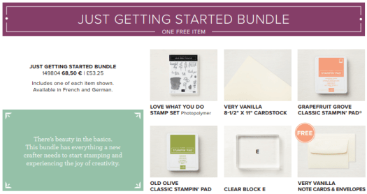 Share What You Love Getting Started Bundle