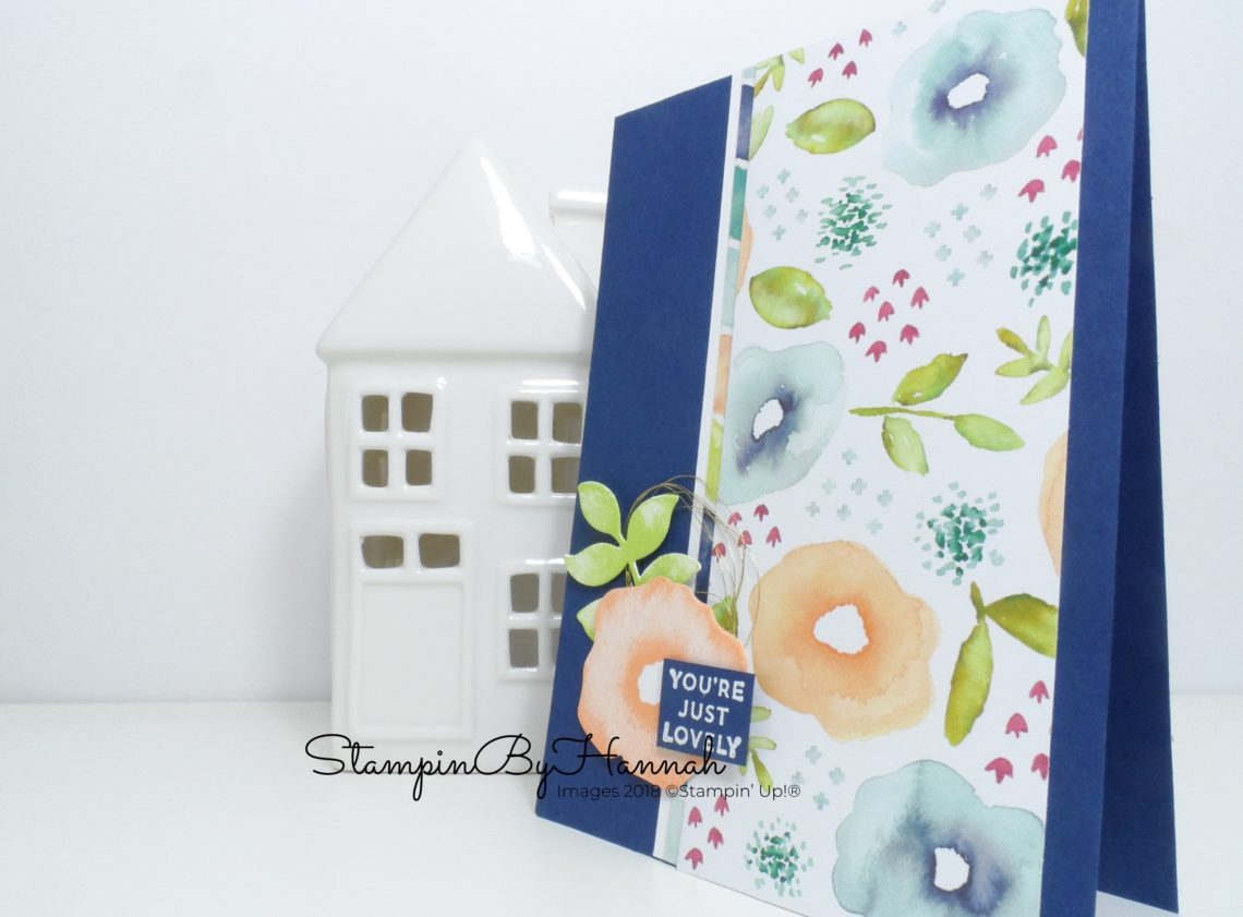 How to make a fun card using Oh So Eclectic from Stampin' Up!