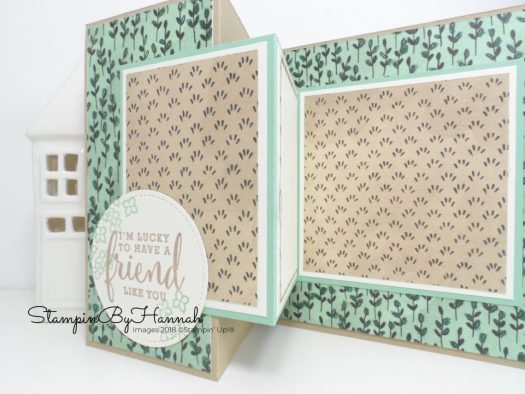 How to make a Z Fold Card using Share What You Love Designer Series Paper Facebook Live Video Tutorial with Stampin' Up! products
