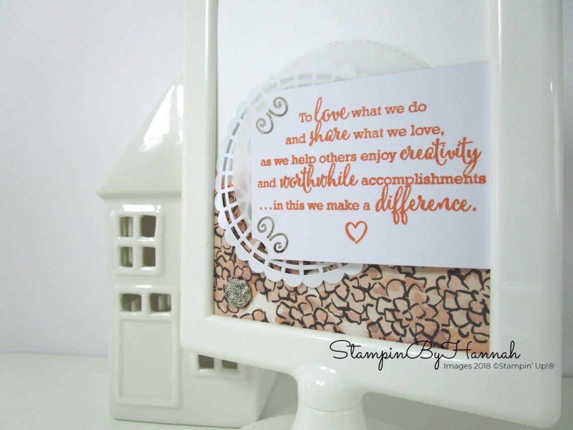 Inspire.Create.Challenges In Colour Challenge using Grapefruit Grove and Share What You Love from Stampin' Up!