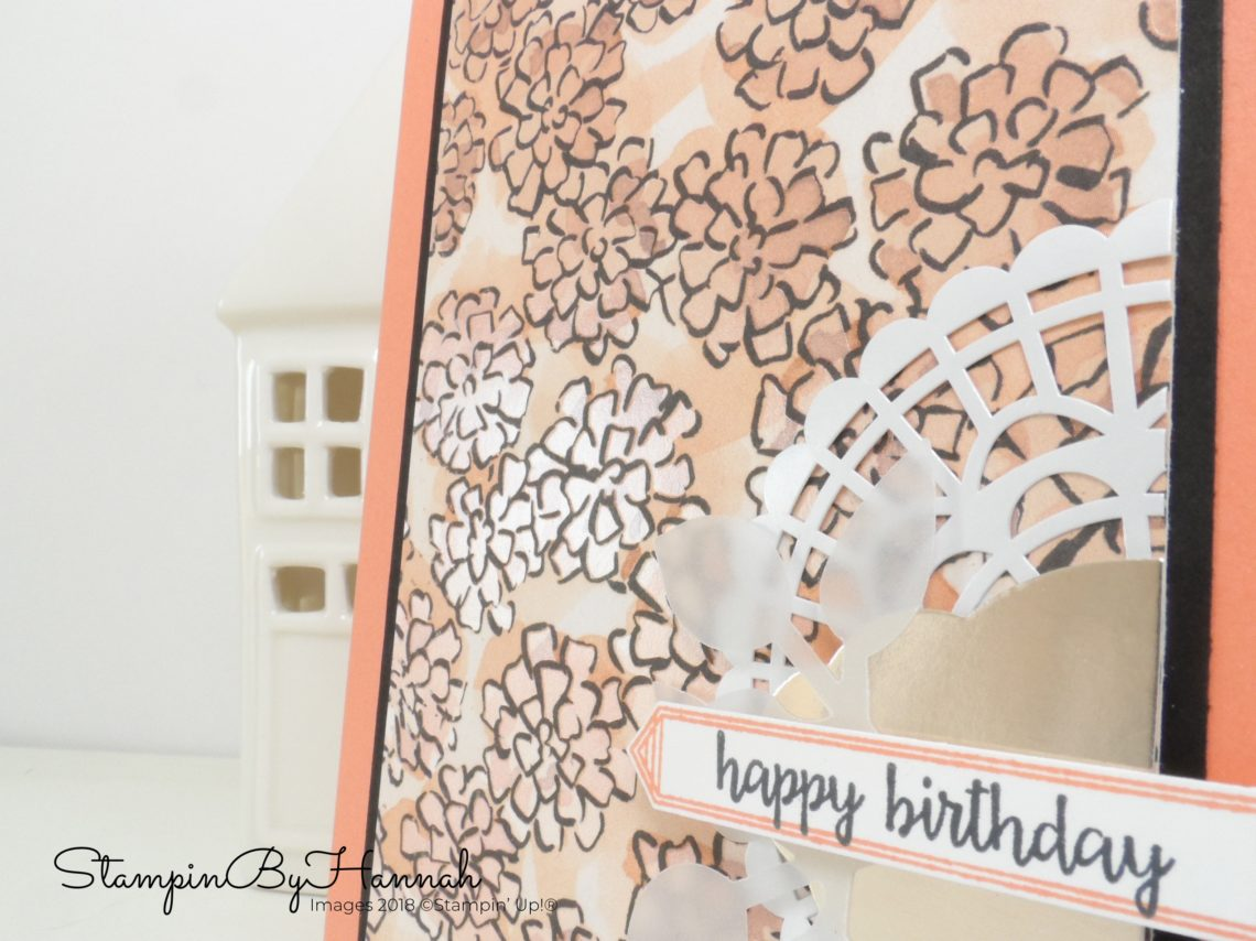 Make It Monday Happy Birthday using Share What You Love from Stampin' Up!