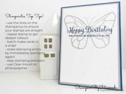 Stamparatus Top Tips Video Tutorial using Beautiful Day from Stampin' Up!