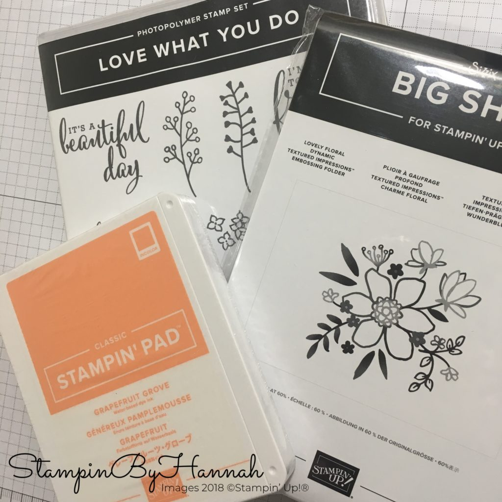StampinByHannah Stampaversary Giveawy Stampin' Up! Love What You Do