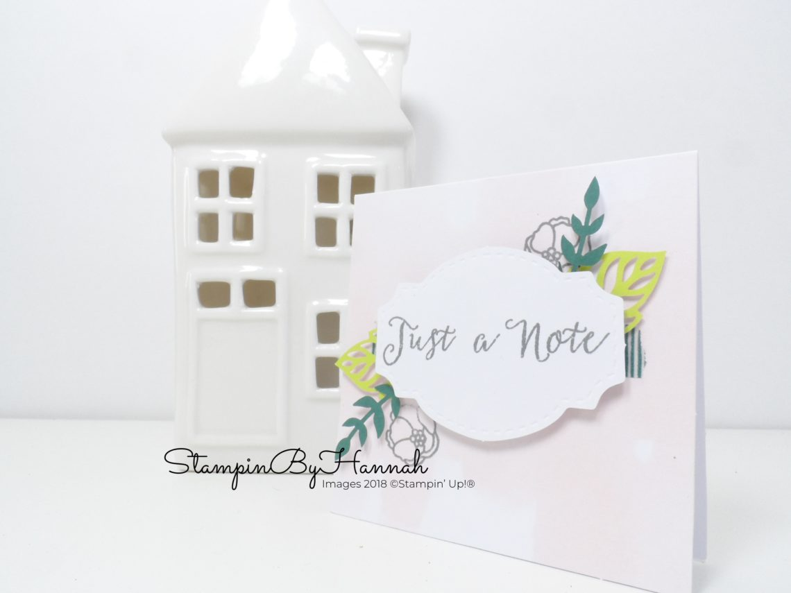 How to put together the Soft Sayings Card Kit from Stampin' Up!