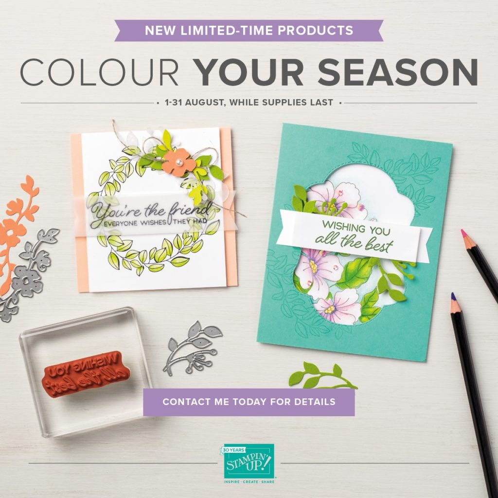 Stampin' Up! Colour Your Season