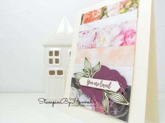 Fun Card using Designer Series Paper from Stampin' Up!