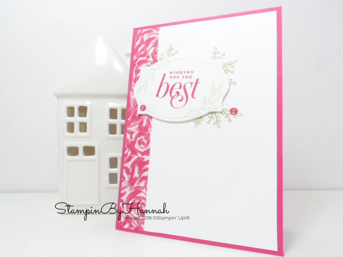 Fun with the Floral Frames stamp set from Stampin' Up!