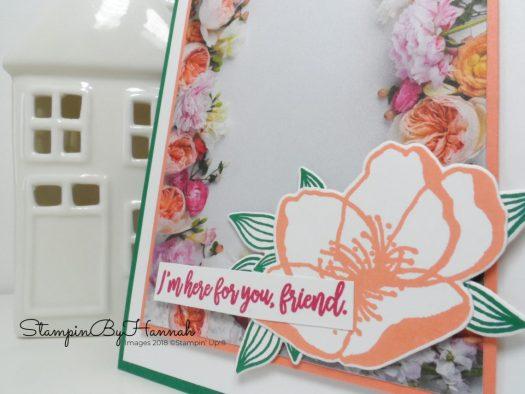 Floral Friend Card using Petal Promenade Designer Series Paper from Stampin' Up!