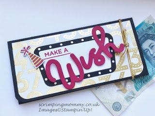 Amanda Charlesworth Broadway Bound Money Wallet using Stampin' Up! products