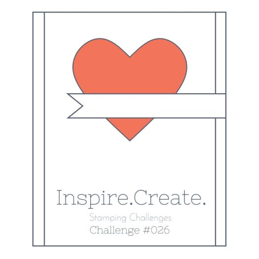 Inspire.Create.Challenge 026 Sketch Challenge using Stampin' up! products