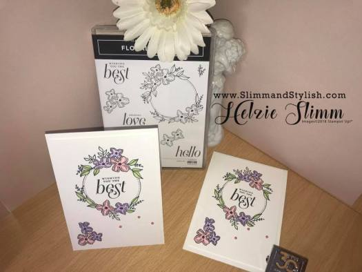 Fun with Floral Frames Card by Slimm and Stylish
