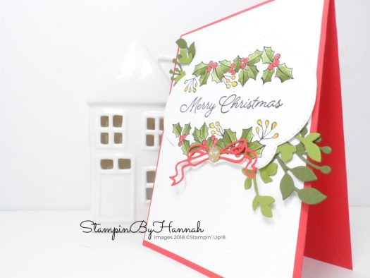Bright and fun Christmas Card using Colour Your Season bundle from Stampin' Up!