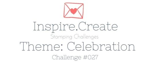 Inspire.Create.Challenge 027 Celebrate