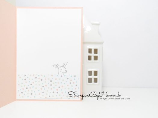 Animal Outings Baby Card using Stampin' Up! products