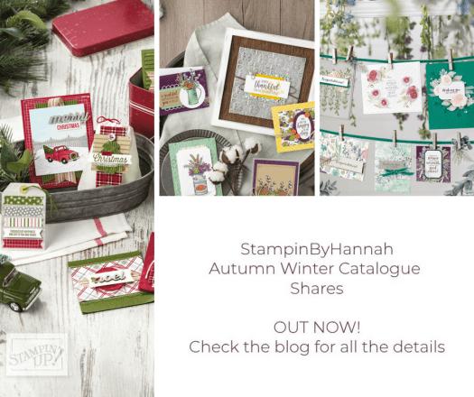 Stampin' Up! Designer Series Paper Share Autumn Winter