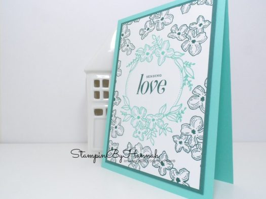 Simple Stamping Pretty Floral Card using Floral Frames from Stampin' Up!