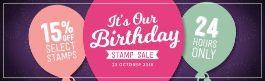 Stampin' Up! Birthday Sale!