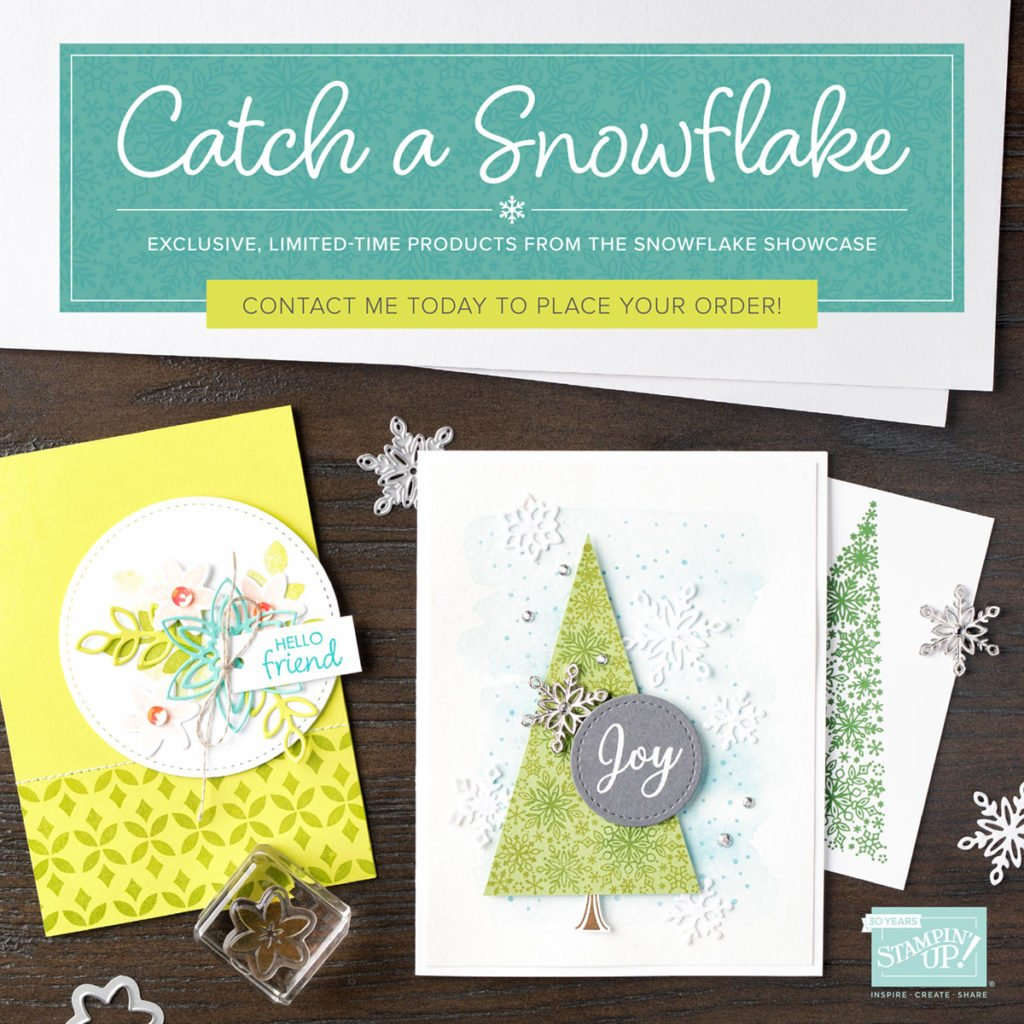 Stampin' Up! Snowflake Showcase