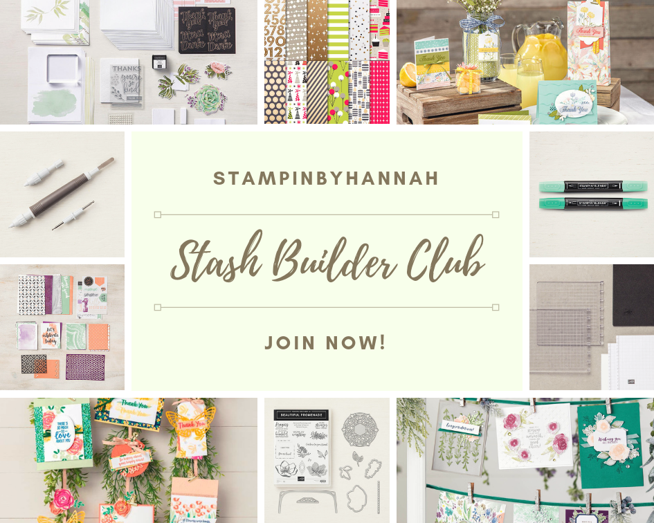 StampinByHannah Stash Builder Club