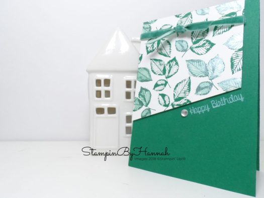 Inspire.Create.Challenge Anything Goes Sketch Challenge Happy Birthday Card using Rooted in Nature from Stampin' Up!