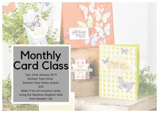 January Craft Class from StampinByhannah