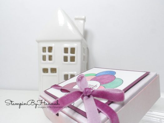 How to make a fun Table Favour with Mini Pizza Boxes from Stampin' Up!