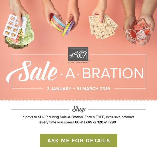 Sale-a-bration 2019 from Stampin' Up! with StampinByHannah