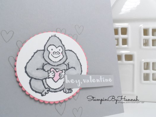 Colouring Hey Love Stamp Set with Stampin' Blends from Stampin' Up! with StampinByHannah