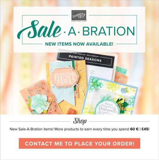 Stampin' Up! Sale-a-bration 2nd release with StampinByHannah