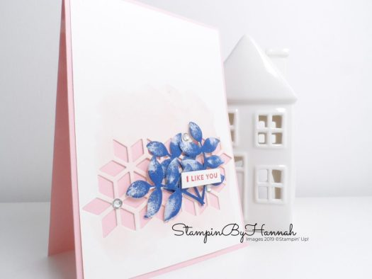 I Like you handmade card using Oh So Eclectic from Stampin' Up! with StampinByHannah