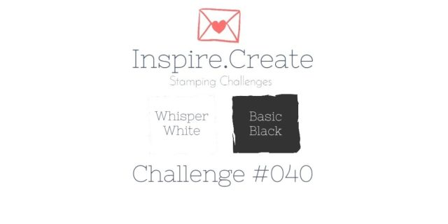 Inspire.Create.Challenge Stampin' Up! Colour Challenge
