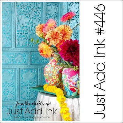 Just Add Ink 446 Cardmaking Inspiration Challenge