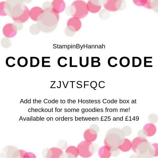 Stampin' Up! Code Club