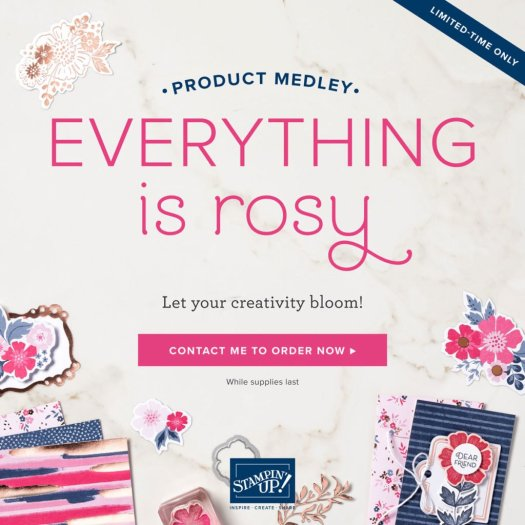 Get your Everything is Rosy Card Kit HERE