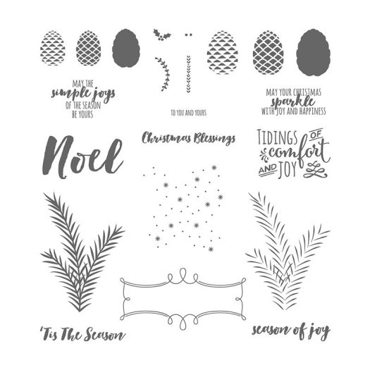Stampin' Up! Last Chance Christmas Pines