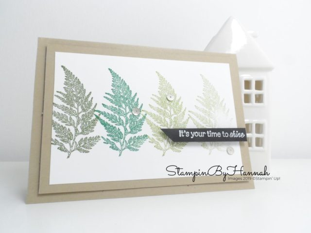 Encouragement card for a guy with Daisy Lane from Stampin' Up! with StampinByHannah