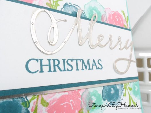 Merry Christmas with First Frost from Stampin' Up! with StampinByHannah