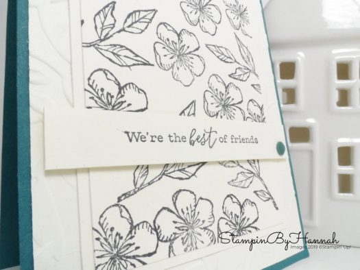 Simple stamping with Free as a bird from Stampin' Up! with StampinByHannah