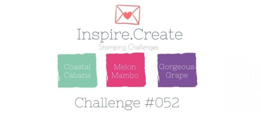 Inspire.Create.Challenge 052 Stampin' Up! Colour Challenge