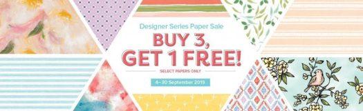 Stampin' Up! Designer Series Paper Sale