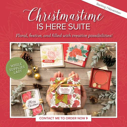 Get the Christmastime is Here suite from Stampin' Up! with StampinByHannah