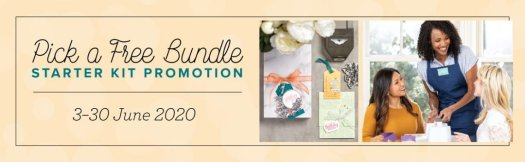 Stampin' Up! Pick a FREE bundle offer
