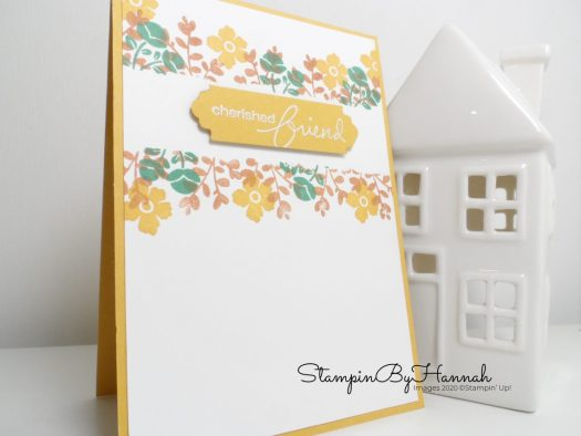 Layered Stamping using Lovely You from Stampin' Up! with StampinByHannah