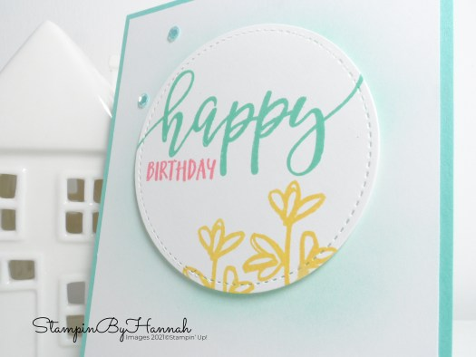 Simple Stamping Birthdays with Pretty Perennials from Stampin' Up! with StampinByHannah