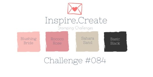 Stampin' Up! Valentines Colour combination for Inspire.Create.Challenge