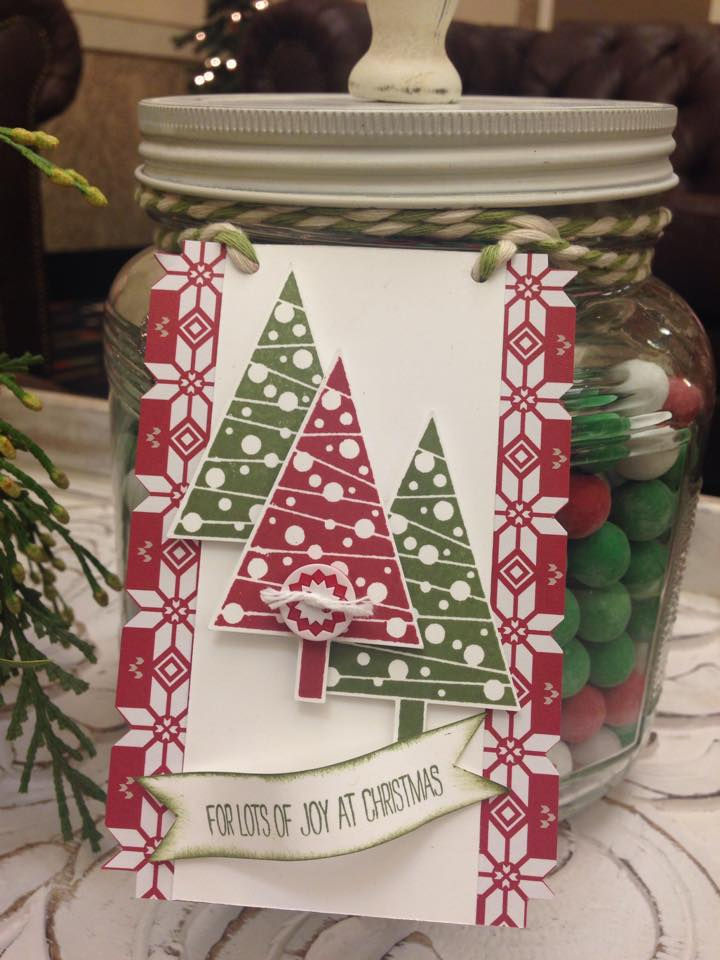Stampin Up Christmas Tag Ideas