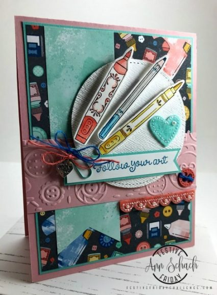 Card for a crafty friend