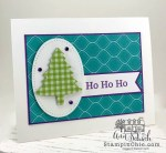 easy Christmas tree card