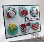 ladybug friendship card